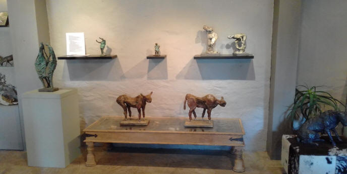 My Bronze sculptures